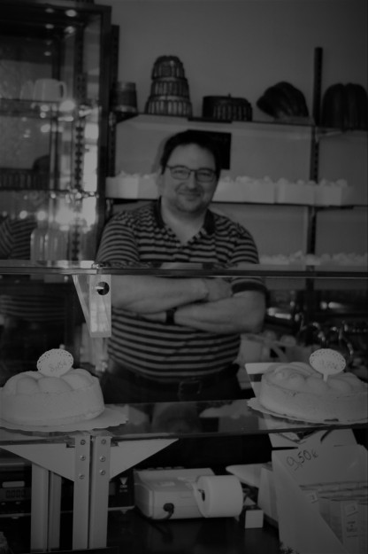 Patissier Christophe Truffet, the current owner
